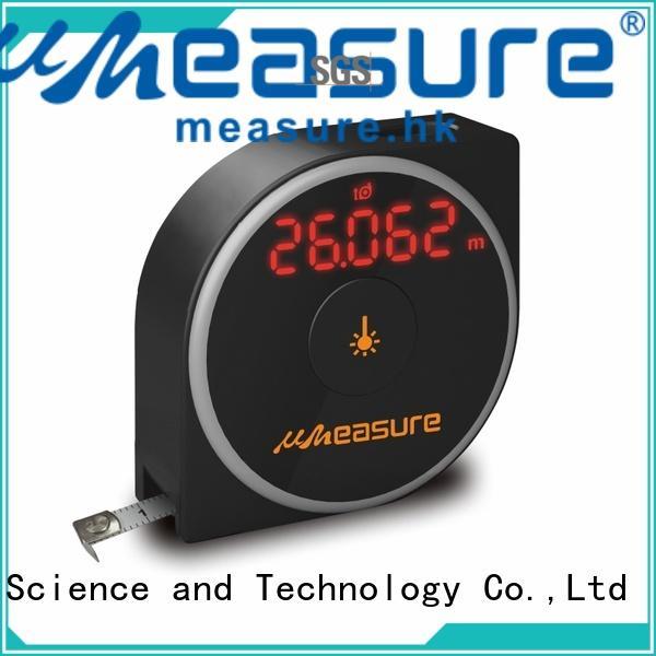 multimode laser distance measurer display for worker